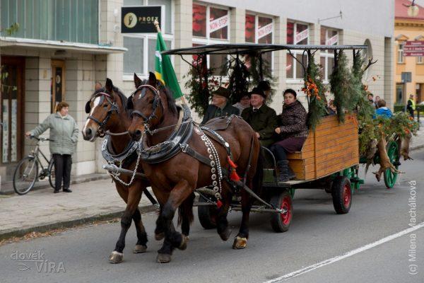 2019-11-03 Sv. Hubert, Holešov