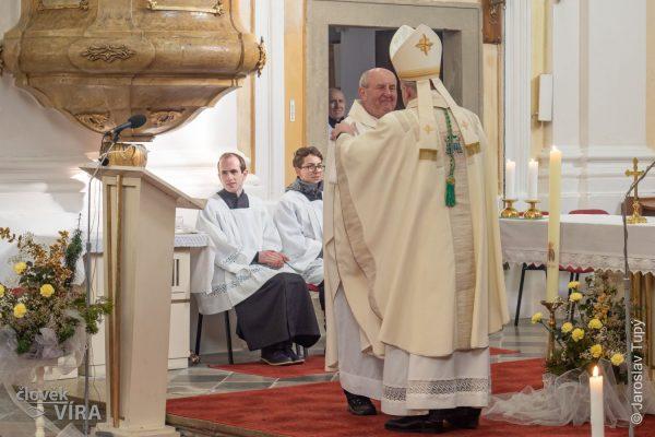 Mše k 250.výročí posvěcení kostela Střílky