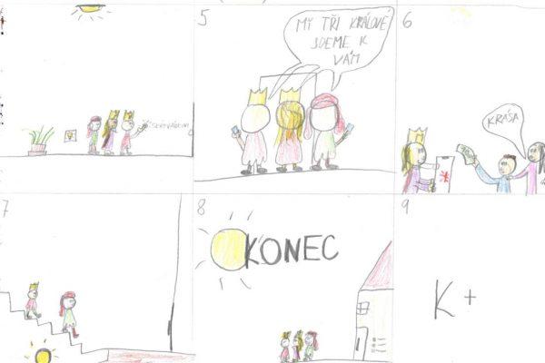 Nakresli tři krále 2020-22