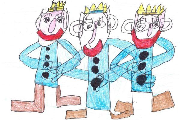 Nakresli tři krále 2020-41