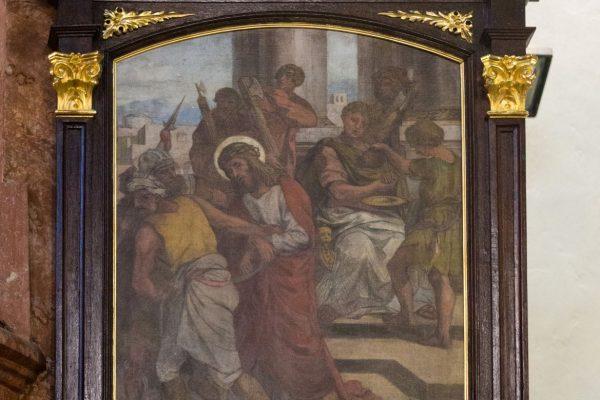 210221 křížová cesta Uprka Vyškov 1