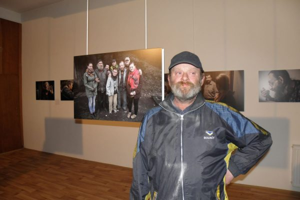 Výstava J. Štreita na podporu Nízkoprahového denního centra Uzel