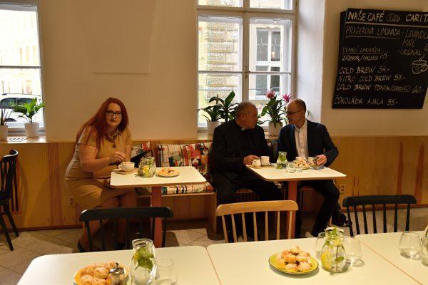 Kavárna Caritaska